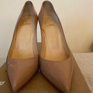 Pointy Toe Nude High Heels